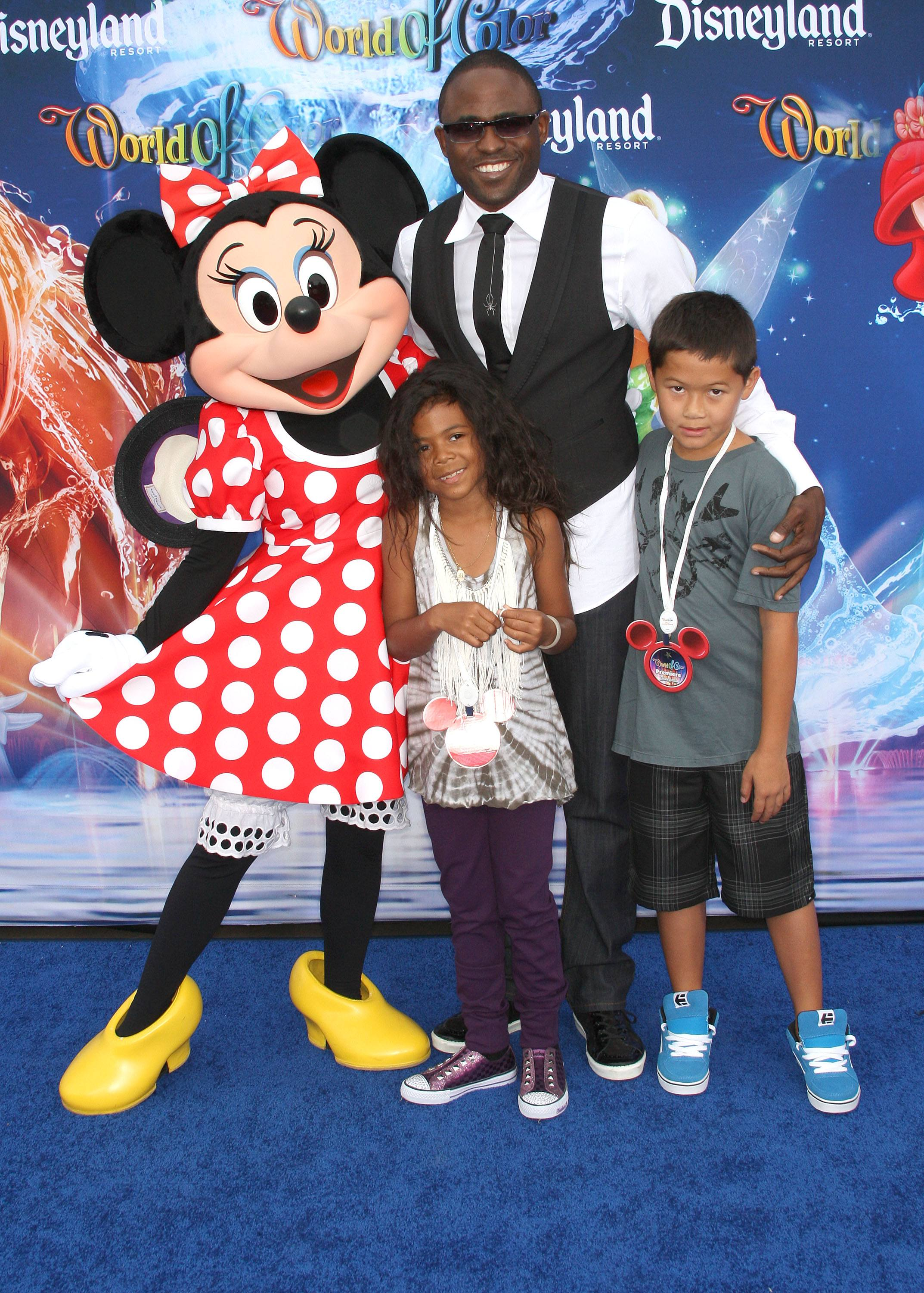Wayne Brady at Disneyland