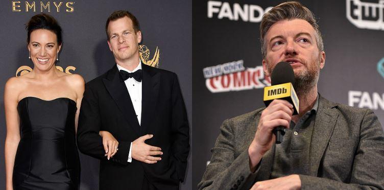 Lisa Joy and Jonathan Nolan, creators of Westworld and Charlie Brooker, creator of Black Mirror