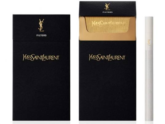 Yves Saint Laurent cigarettes