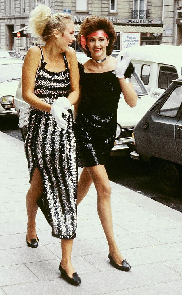 80s sequin dresses