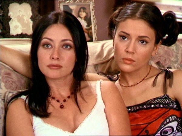 Shannen Doherty and Alyssa Milano