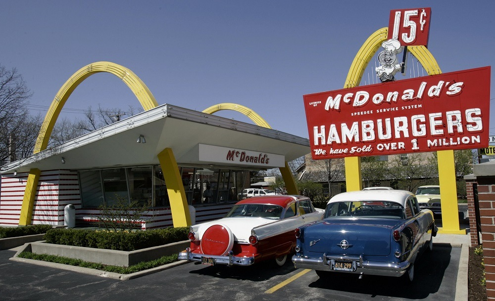 A replica of Ray Kroc's first McDonald's franchise
