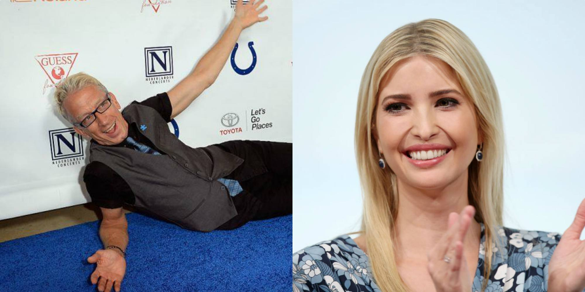 Andy Dick and Ivanka Trump