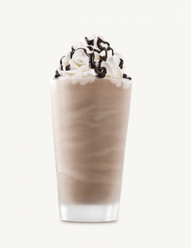 Arby's chocolate milk shake.