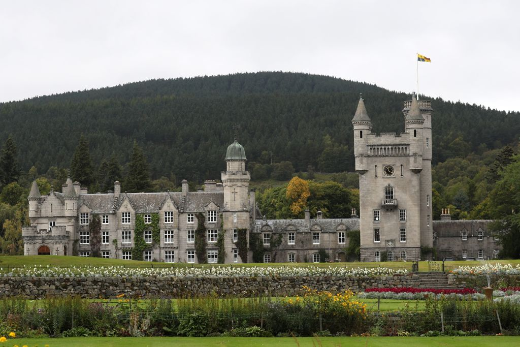 Balmoral Castle in Scotland