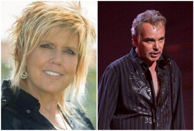A collage featuring Melissa Lee Gatlin and Billy Bob Thornton.