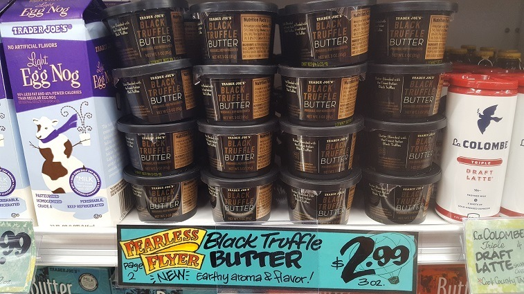 Black Truffle Butter at Trader Joe's