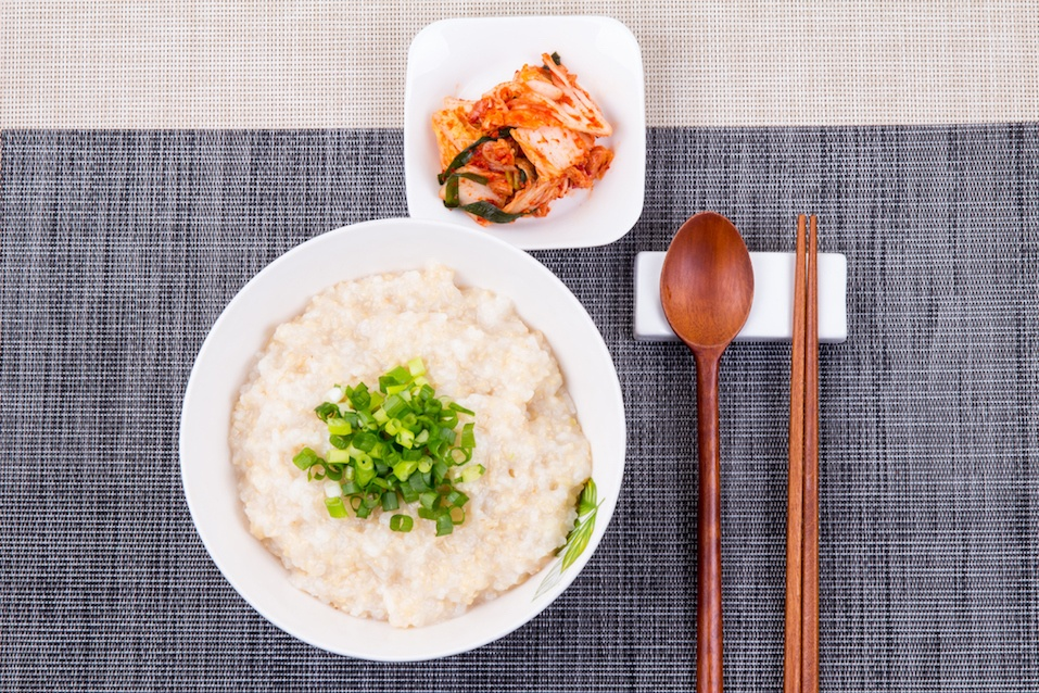 Chicken Rice Porridge - Dak juk