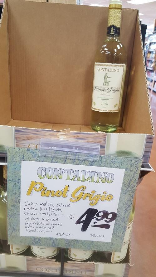 Contadino Pino Grigio wine