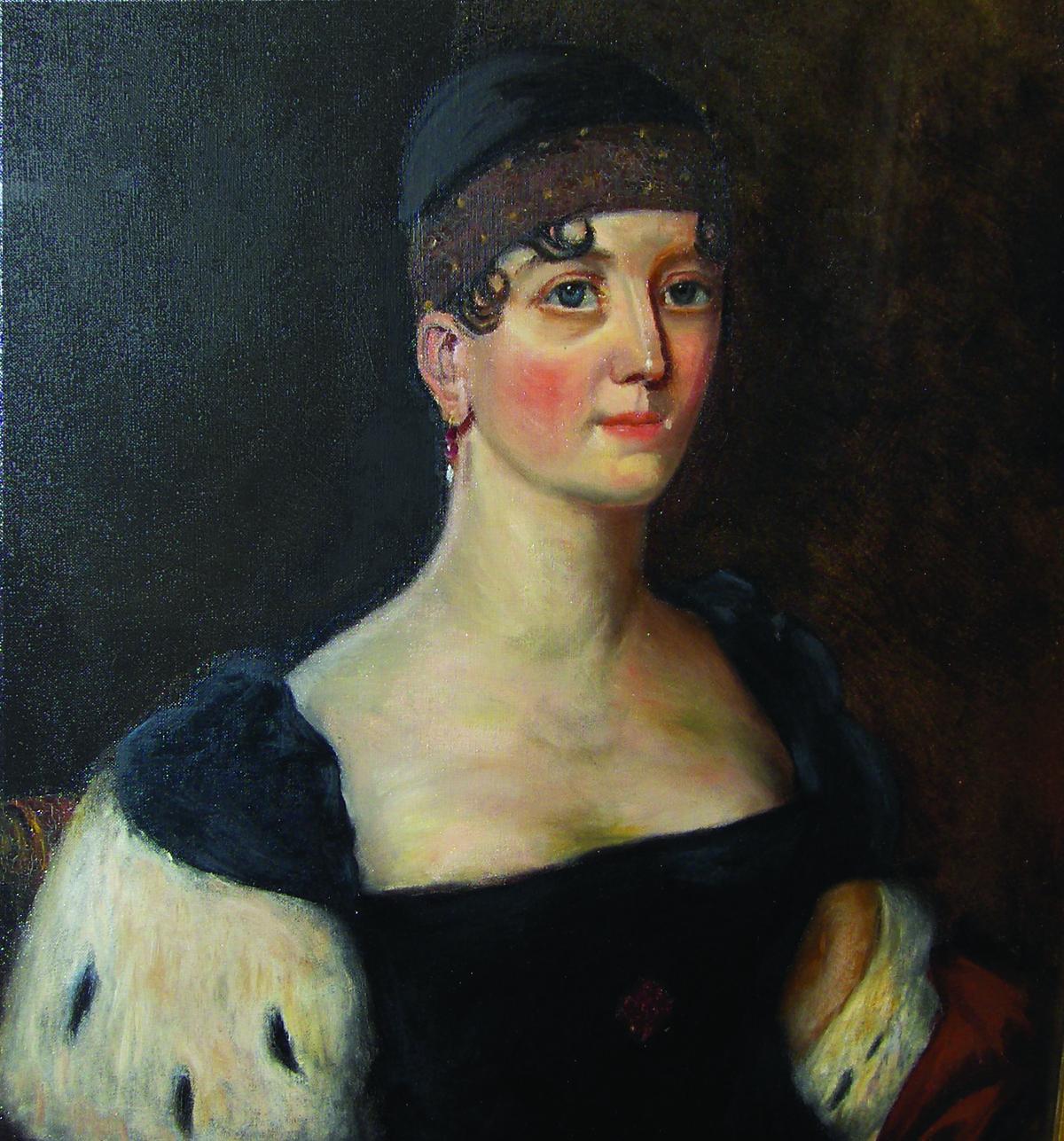 elizabeth monroe portrait