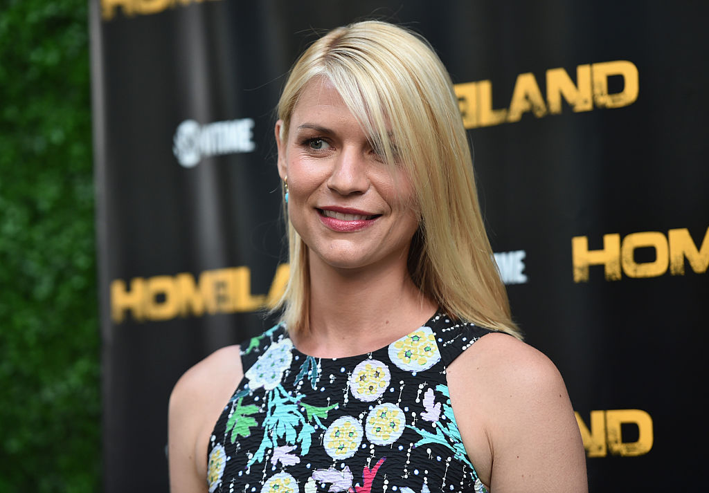 Actress Claire Danes attends an Emmy For Your Consideration Event for Showtime's 'Homeland'