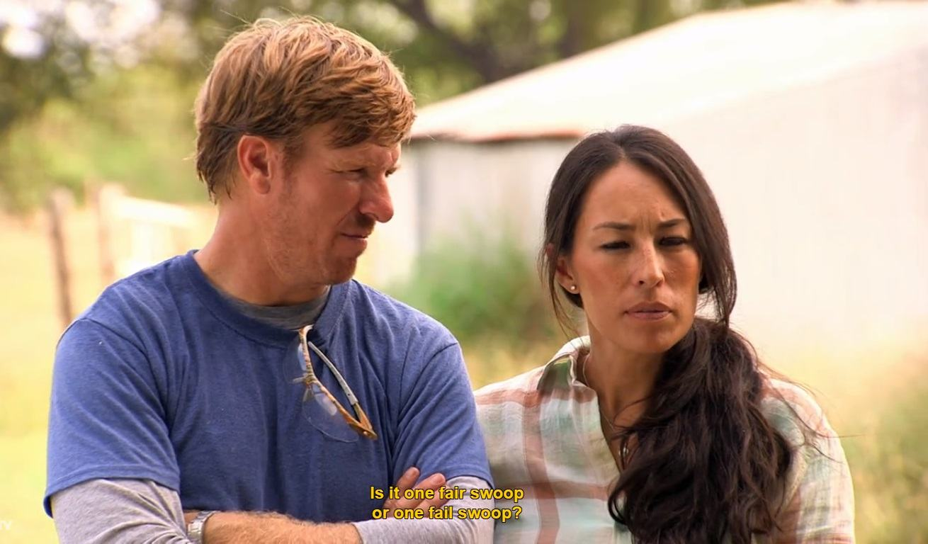 Fixer Upper Chip and Joanna