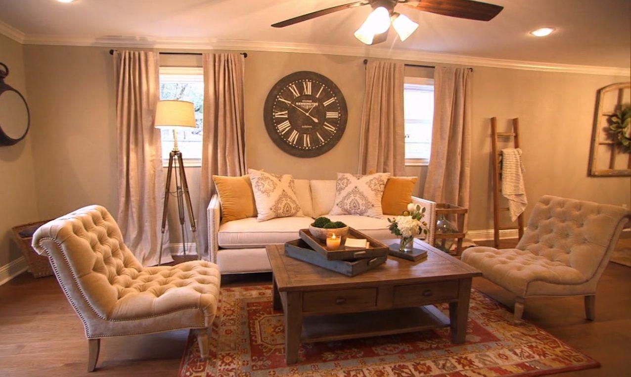 Fixer Upper Living room
