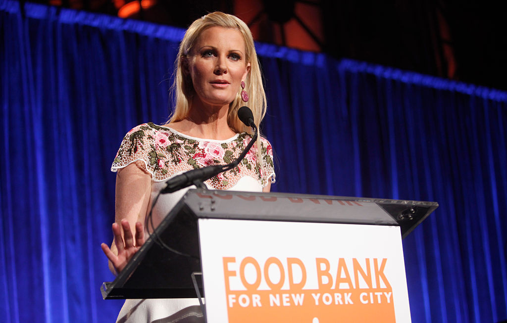Chef & Author Sandra Lee speaks onstage during the Food Bank