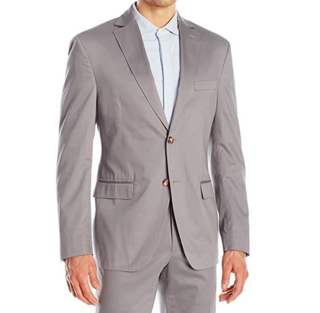 Franklin Tailored Men's Soft Summer Peach Cotton Chase Jacket