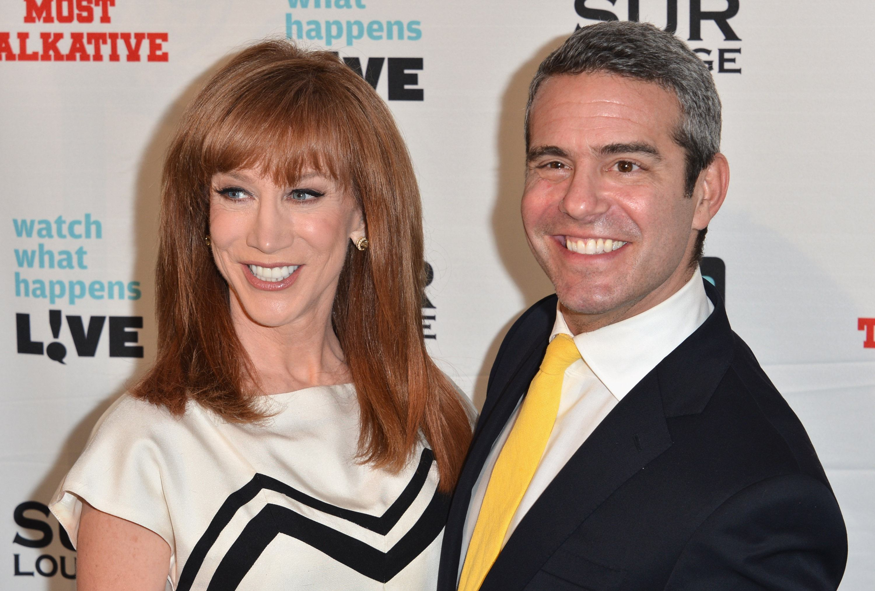 Andy Cohen and Kathy Griffin Feud: Shocking Drug Abuse Claims and ...