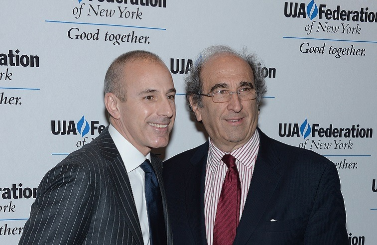 Matt Lauer and Andy Lack