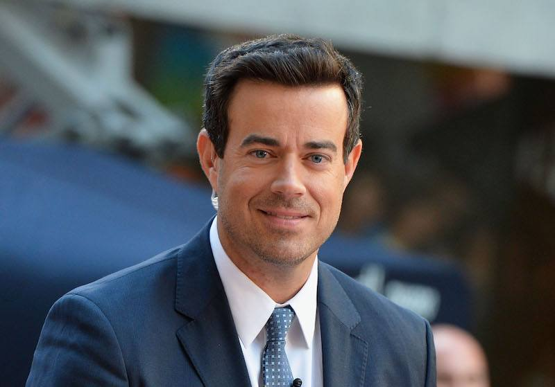 Carson Daly at the NBC's TODAY Show