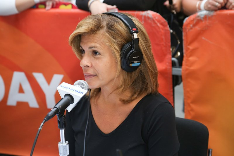 "Hoda Kotb attends ""The Elvis Duran Z100 Morning Show"" Live At NBC's ""Today Show""."