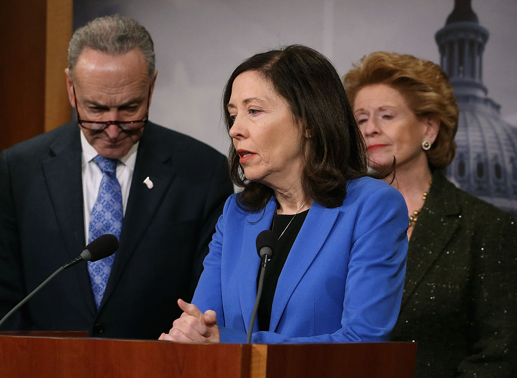 Sen. Maria Cantwell speaks about the Keystone XL Pipeline.