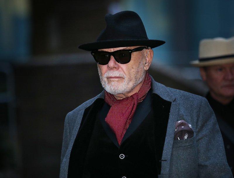 Gary Glitter, real name Paul Gadd, leaves Southwark Crown Court