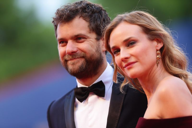 Joshua Jackson and Diane Kruger attend a premiere for 'Black Mass' during the 72nd Venice Film Festival on September 4, 2015 in Venice, Italy.