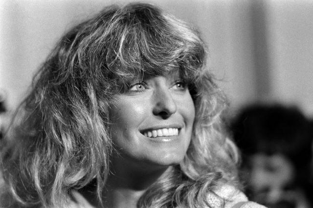 Farrah Fawcett attends the 31th Cannes Film Festival on May 21, 1978.
