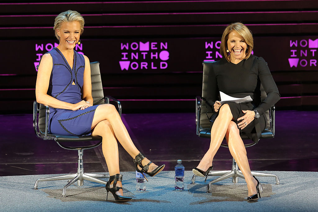 Megyn Kelly and Katie Couric interview each other at women in the world