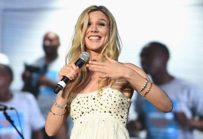 Singer Joss Stone performs on stage