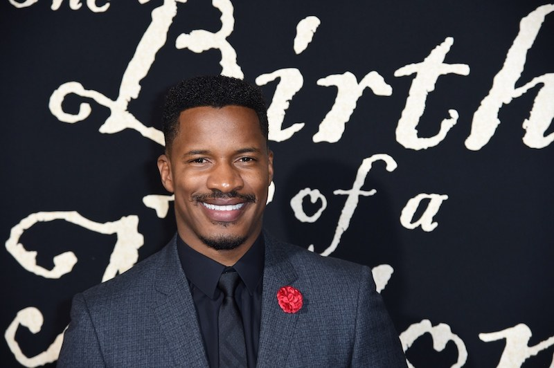 "Director Nate Parker attends the premiere of his film ""The Birth of a Nation,"""