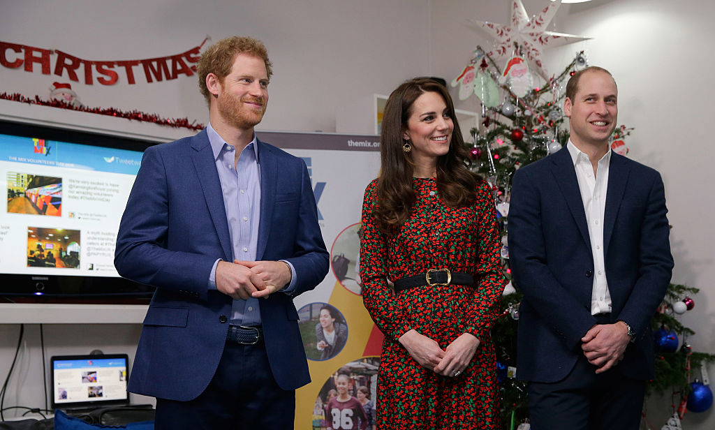 Prince Harry, Catherine, Duchess of Cambridge and Prince William, Duke of Cambridge