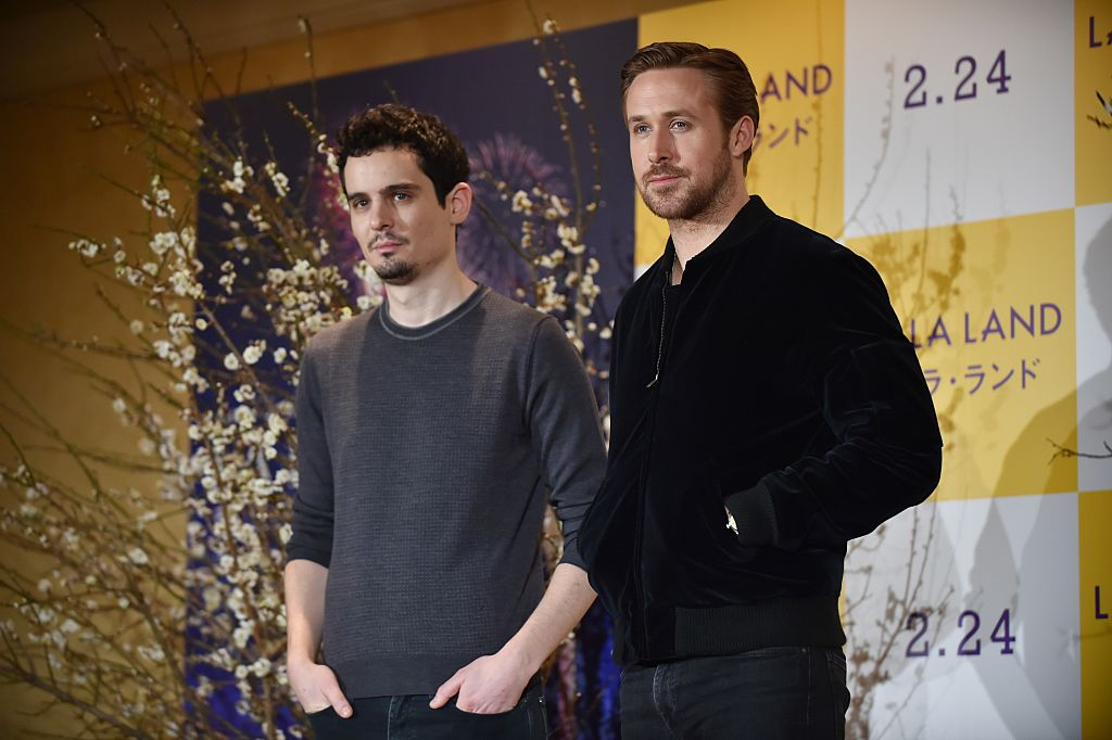 Damien Chazelle and Ryan Gosling