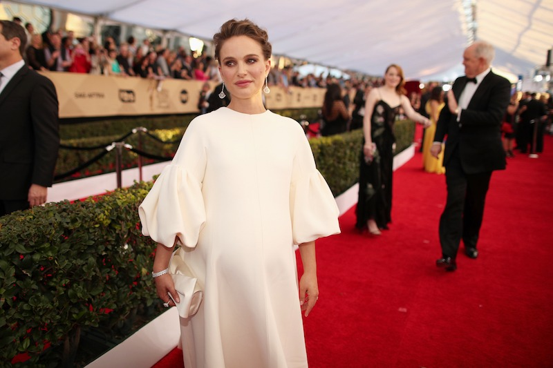 Actor Natalie Portman attends The 23rd Annual Screen Actors Guild Awards