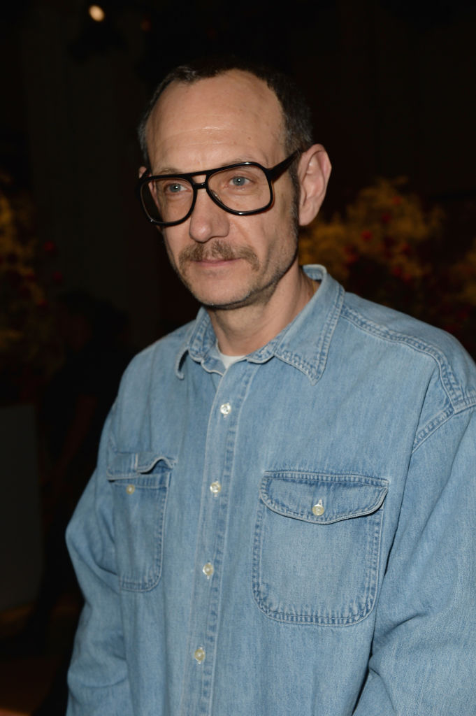 terry richardson in a denim shirt and glasses