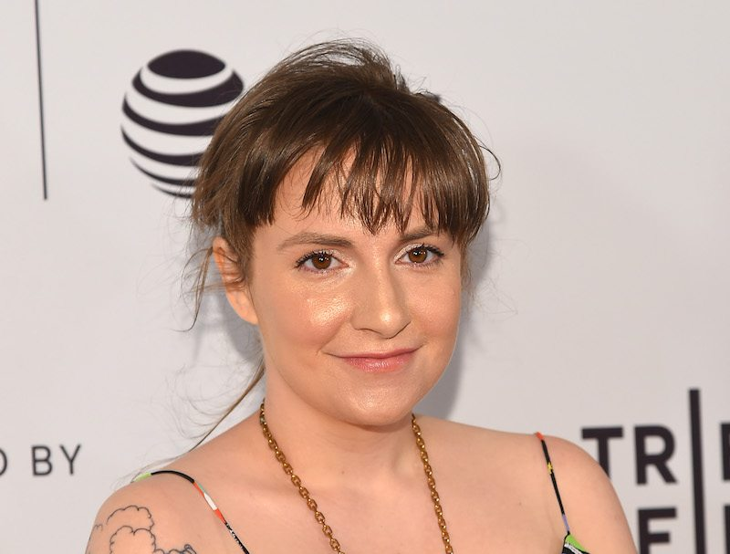 "Actress Lena Dunham attends ""My Art"" premiere during the 2017 Tribeca Film Festival at Cinepolis Chelsea on April 22, 2017 in New York City."