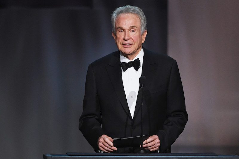 Actor Warren Beatty speaks onstage during American Film Institute's 45th Life Achievement Award Gala