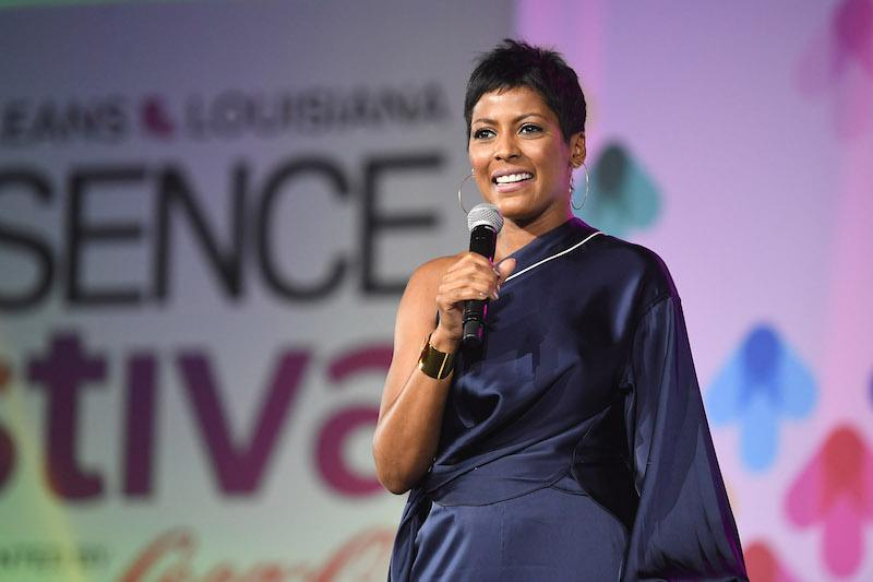 Tamron Hall speaks onstage at the 2017 ESSENCE Festival