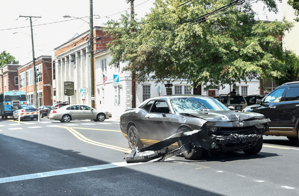 the dodge charger used in charlottesville protests