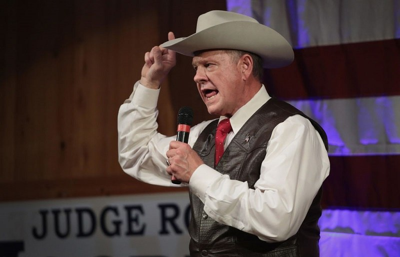 Alabama GOP Senate Candidate Roy Moore Holds Campaign Event In Fairhope, Alabama