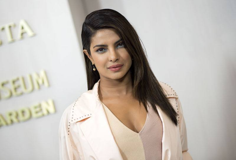 Actress Priyanka Chopra attends the Hammer Museum Gala in the Garden