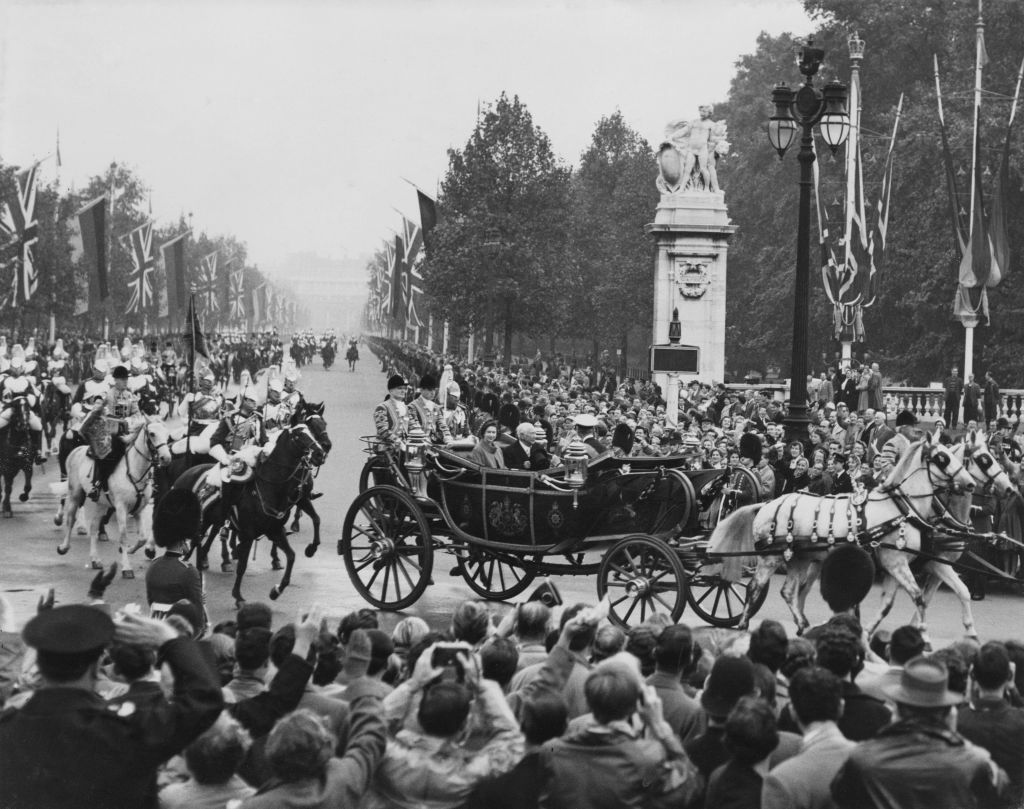 a file photo of british royalty in a carriage