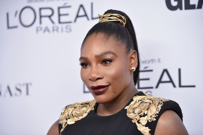 Serena Williams attends Glamour's 2017 Women of The Year Awards