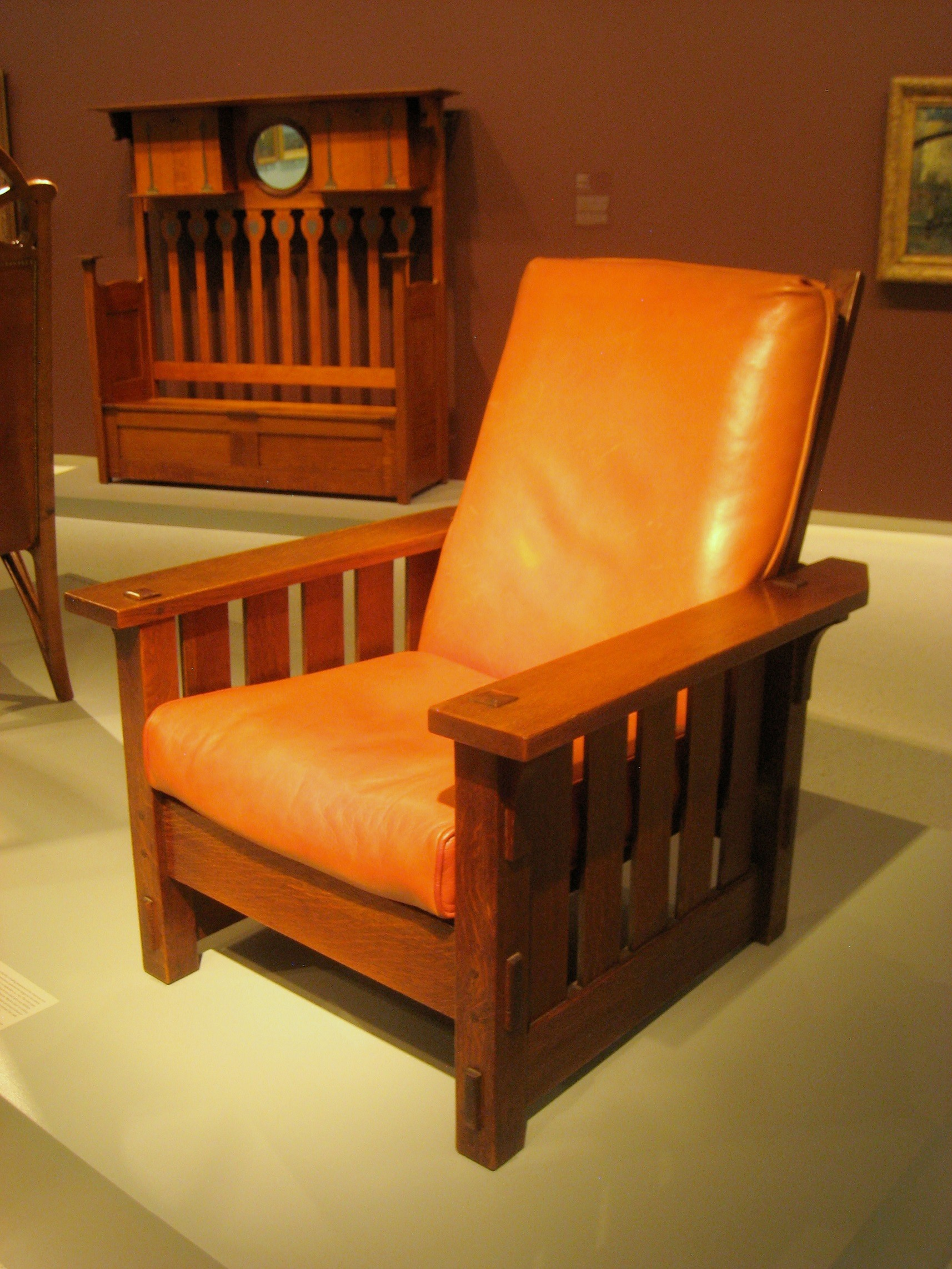 Gustav Stickley craftsman chair
