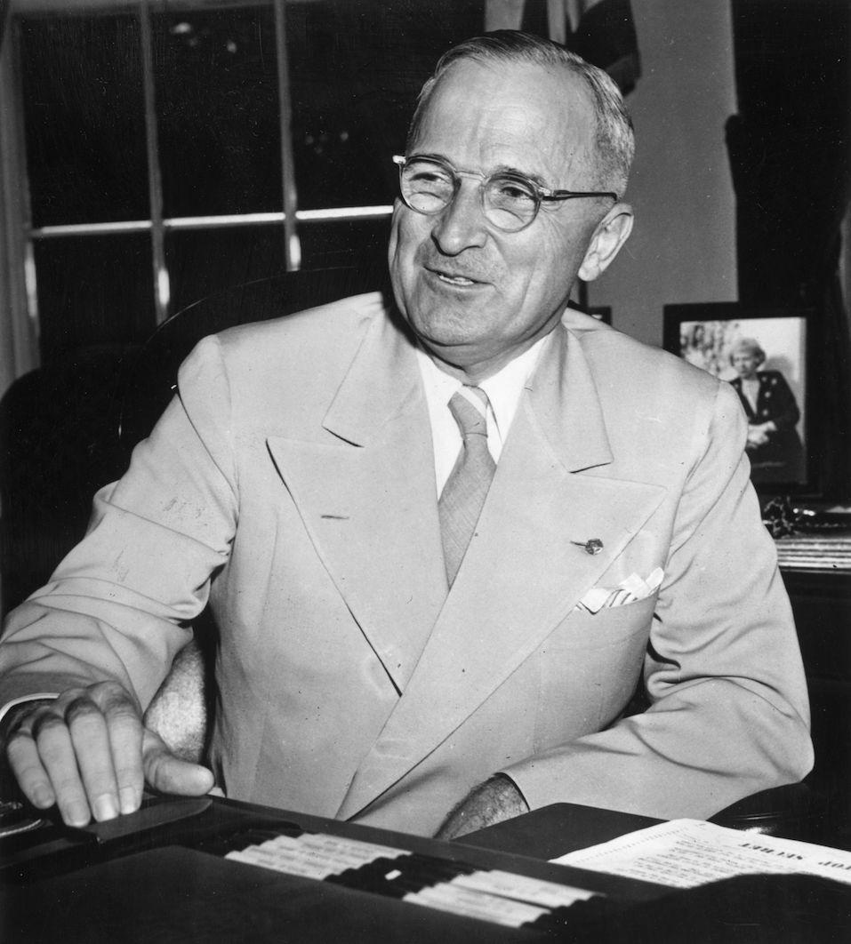 American President Harry S Truman