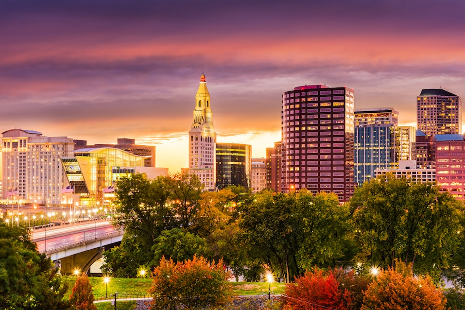 Hartford, Connecticut skyline