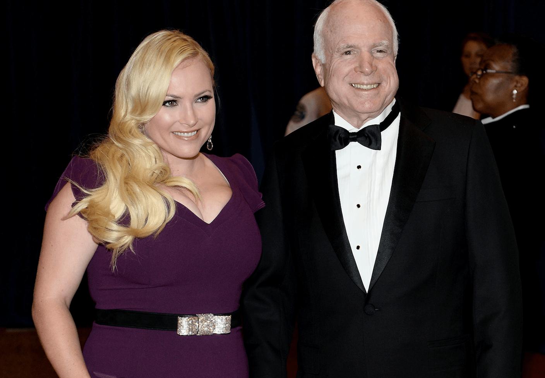 John McCain and Meghan