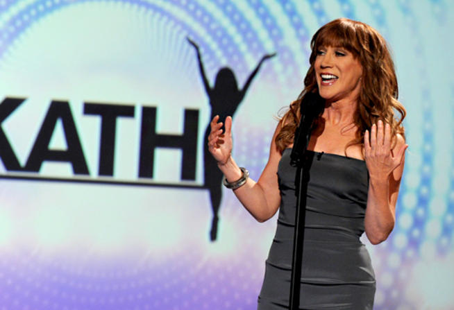 Kathy Griffin on her talk show Kathy