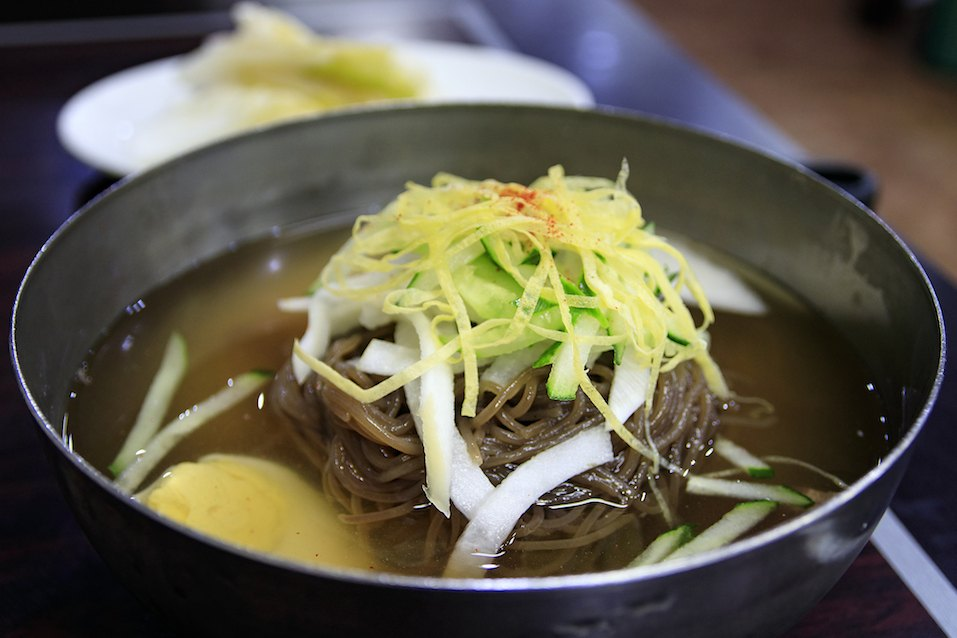 Korean Naengmyeon