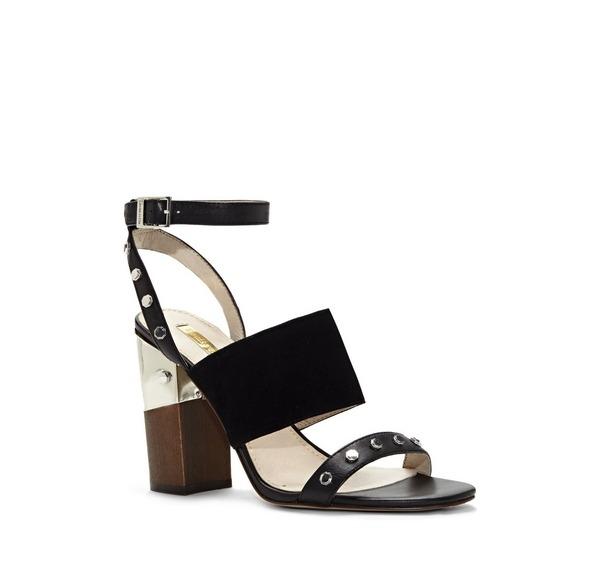 Louise et Cie Kellyn Studded Triple-Strap Sandal