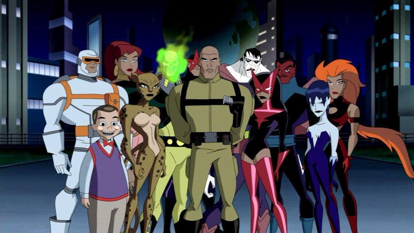 Members of the Legion of Doom
